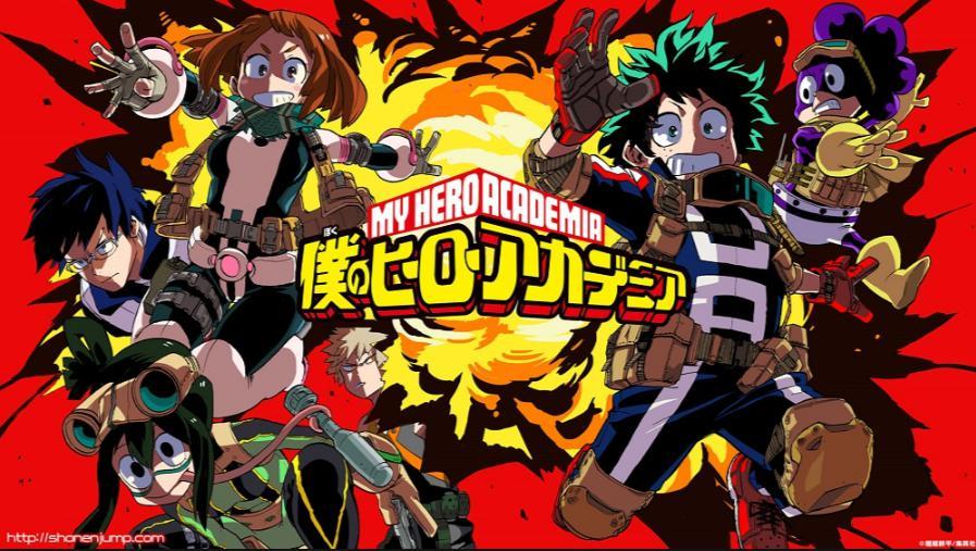 僕のヒーローアカデミアのアニメ4期の放送日はいつ?原作のどこからどこまで?新キャラは?