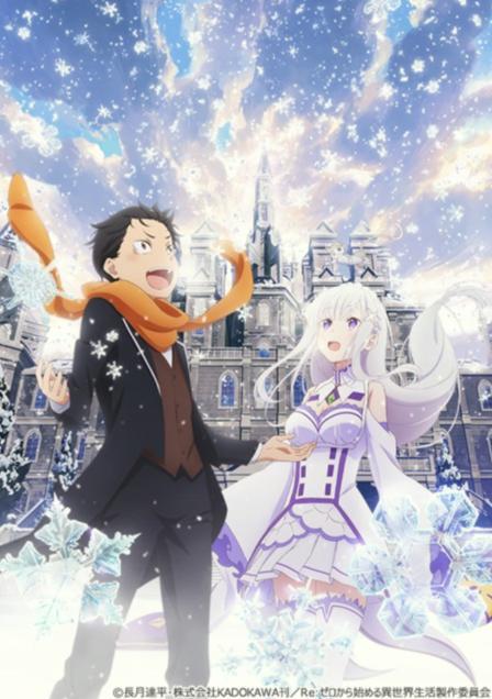 """リゼロの新作エピソードOVA映画""""Memory Snow""""の上映期間はいつまで?入場者特典やストーリーネタバレ!"""