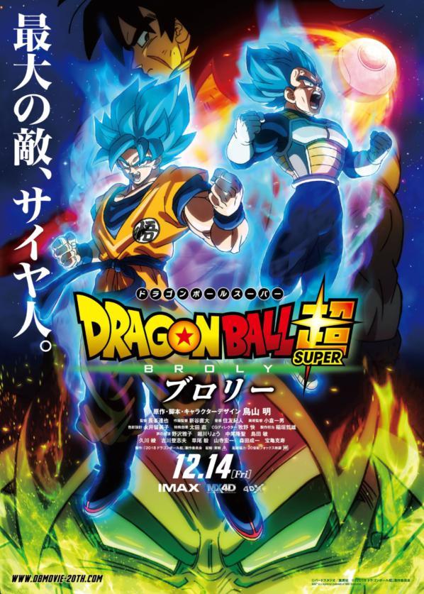 ドラゴンボール超 ブロリー(映画)の続きは?地上波やテレビでの放送に、DVDの発売日やレンタルはいつ?