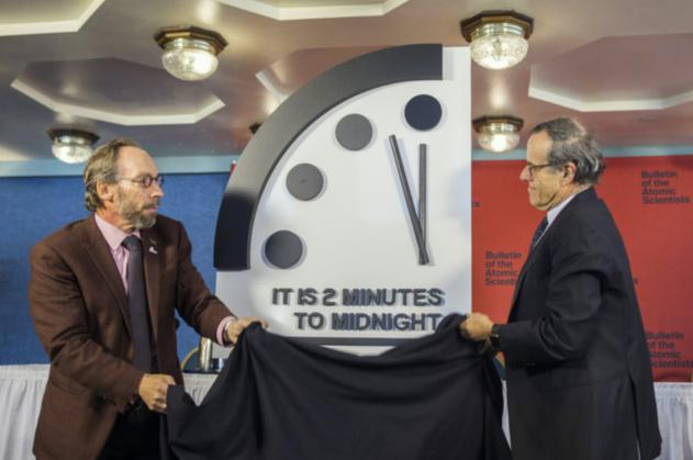 世界終末時計を動かしている人は誰?本当に当たる?