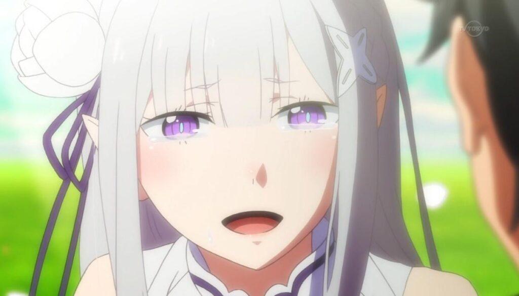 【リゼロ】エミリアがかわいい!スバルのことが好き?恋愛や結婚・キスシーンや2期の活躍・名言まとめ!(ネタバレ注意)