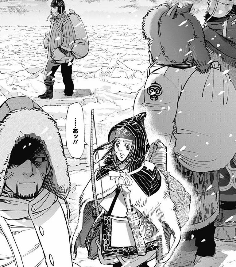 ゴールデンカムイのアニメの3期の34話「狼に追いつく」は原作漫画の何巻?ネタバレと感想!