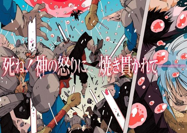 転生したらスライムだった件(転スラ)の2期の34話「神之怒(メギド)」は原作・漫画の何巻?33話の続きのストーリーのネタバレと感想!